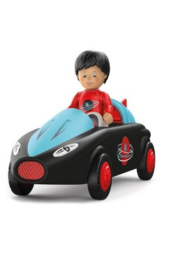 toddys by siku speelgoedauto sam speedy inclusief licht en geluid zwart