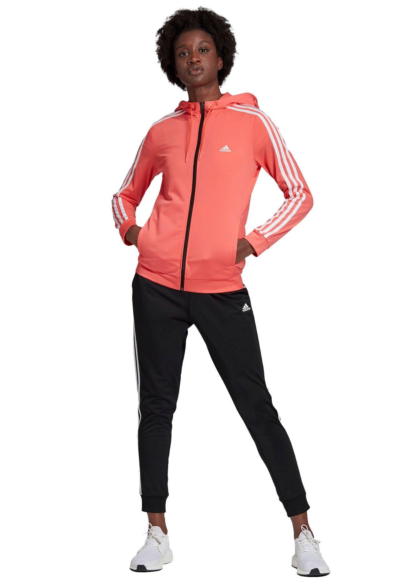 adidas Performance Trainingspak PES 3 STRIPES TRACKSUIT W (set, 2-delig) nu online kopen bij OTTO