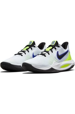 nike basketbalschoenen precision 5 wit