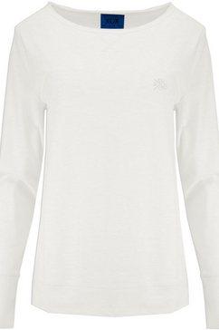 xox shirt met ronde hals wit