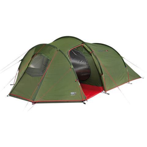 High Peak tunneltent tent Goshawk 4, 4 Personen (met transporttas)