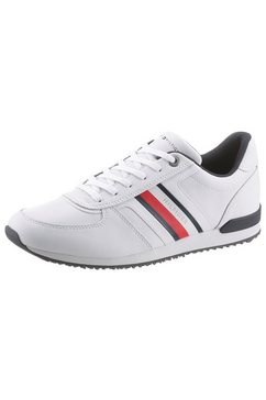 tommy hilfiger sneakers »iconic mix runner« wit