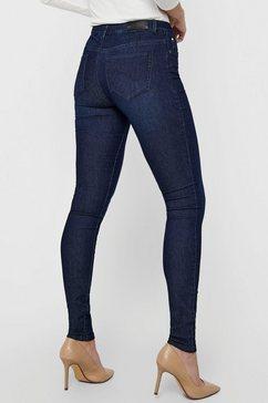 only skinny fit jeans onlcarmen iris met stretch blauw
