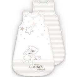 baby best babyslaapzak lieblingsmensch beige