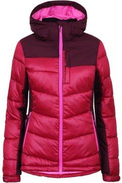 icepeak gewatteerde jas »belling« rood