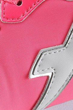 w6yz sneakers met sleehak roze