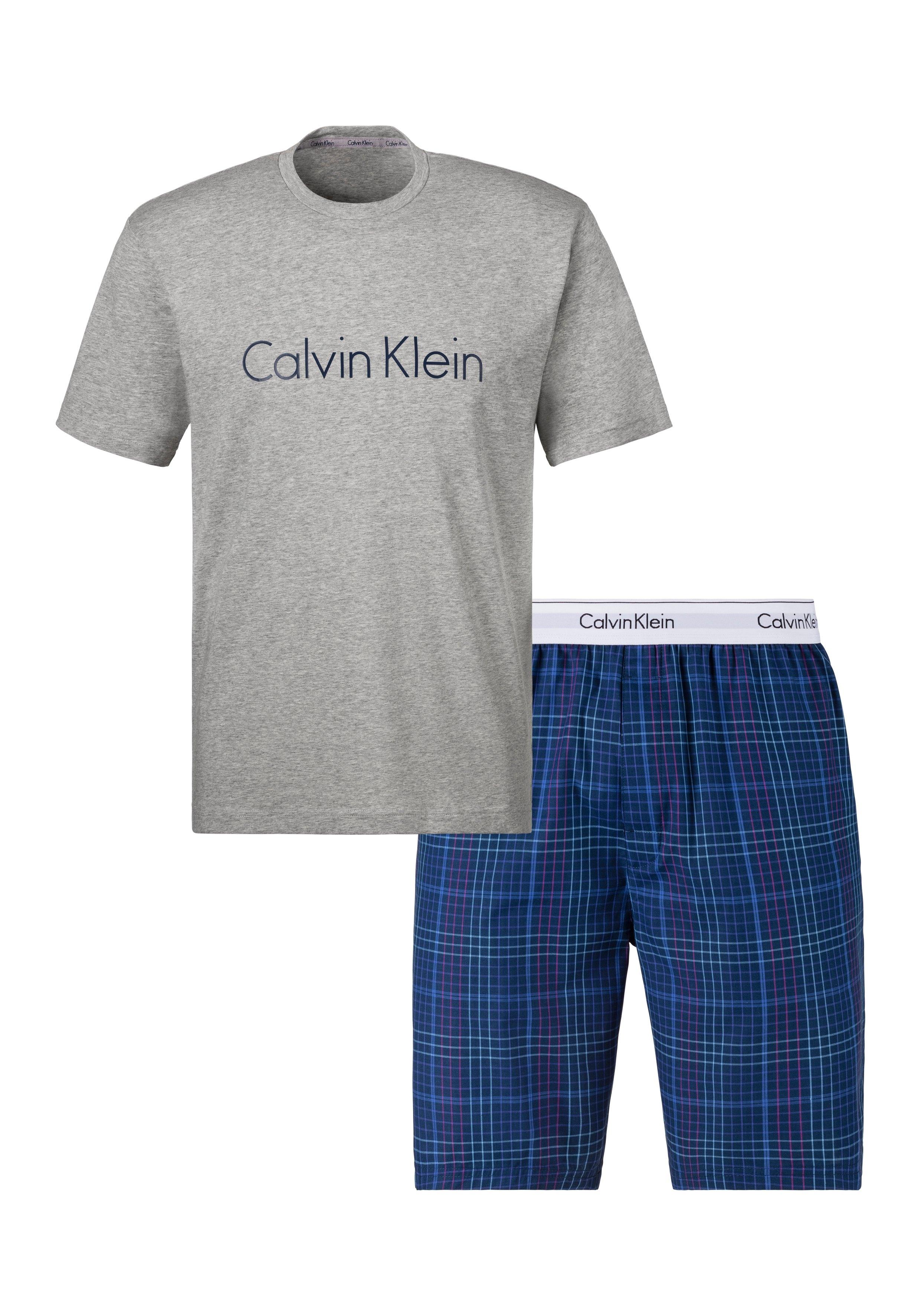 Calvin Klein shortama met geweven short goedkoop op otto.nl kopen