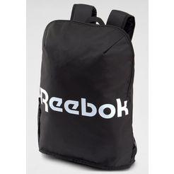 reebok »act core bkp s« sportrugzak zwart