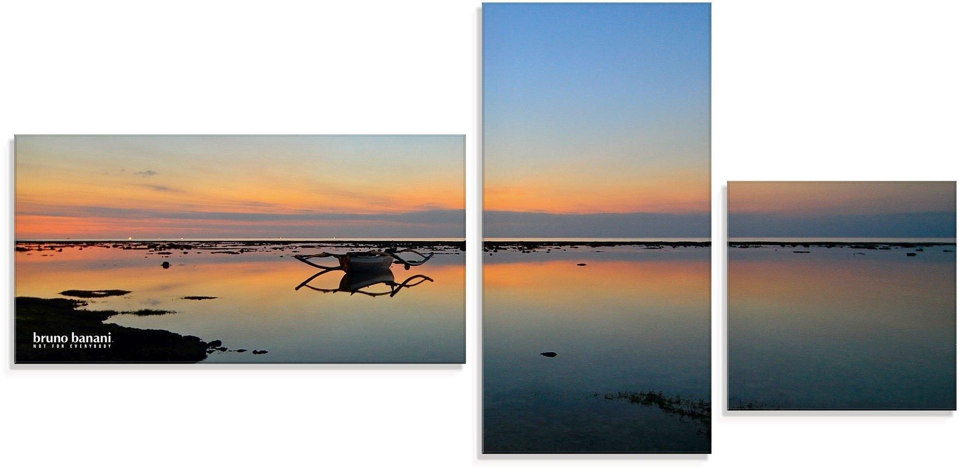 Op zoek naar een Bruno Banani print op glas Avondstemming aan het strand (3 stuks)? Koop online bij OTTO