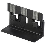 bodenmeister bevestigingsclips voor plinten type 2 voor laminaatplinten (set, 30 stuks) zwart