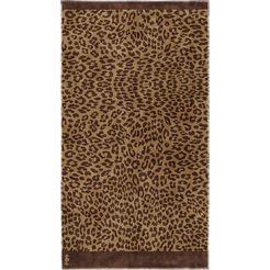 seahorse strandlaken jaguar (1 stuk) bruin