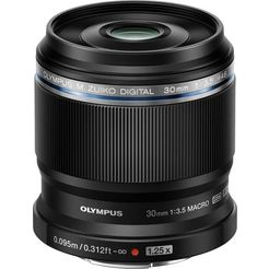 olympus macro-objectief m.zuiko digital ed 30 mm f3.5 zwart