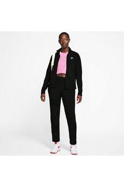 nike sportswear trainingspak w nsw trk suit pk (set, 2-delig) zwart