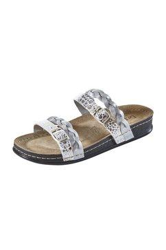 slippers bubbles zilver