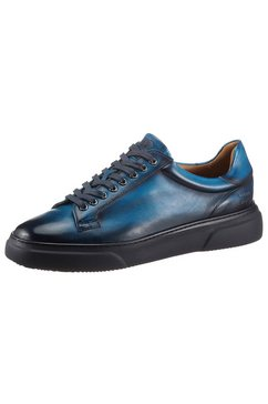 melvin  hamilton sneakers met hand-finish blauw