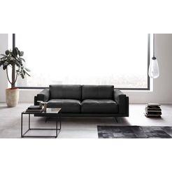 places of style 2-zitsbank »randen« zwart