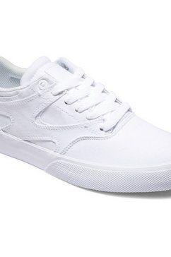 dc shoes sneakers »kalis vulc« wit
