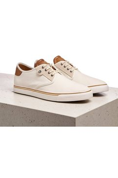 lloyd sneakers eldon met modieuze hielinzet wit