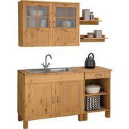 home affaire keukenset alby zonder elektrische apparaten, breedte 150 cm beige