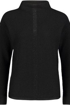 betty barclay trui met staande kraag zwart