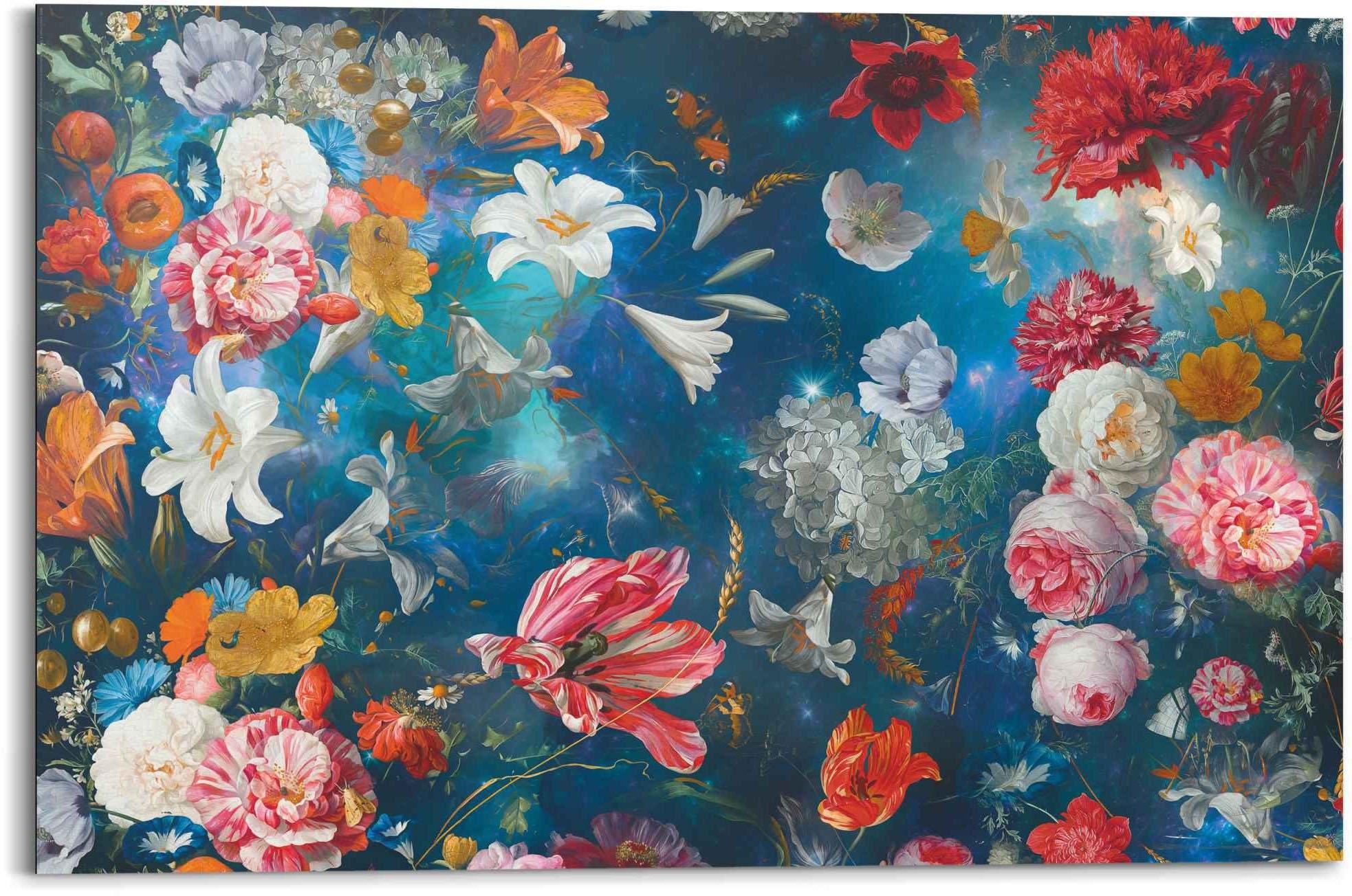 Reinders! artprint bloemenzee bloemen - planten - in vrolijke kleuren (1 stuk) bestellen: 30 dagen bedenktijd