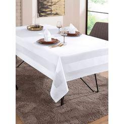 curt bauer tafellaken wit