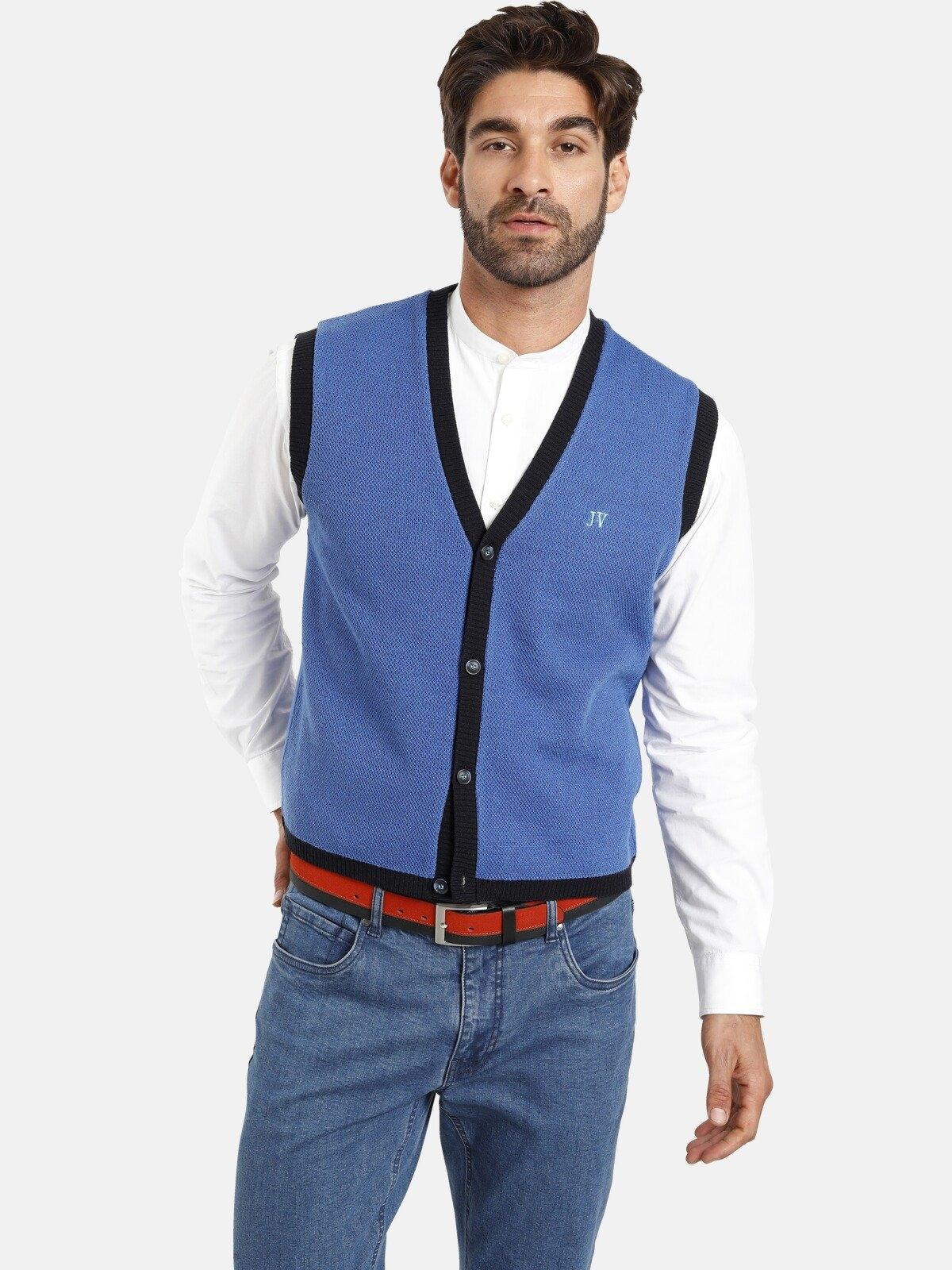 Jan Vanderstorm mouwloos vest OLVE Colourblocking, comfort fit voordelig en veilig online kopen
