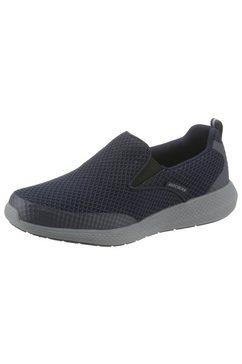 skechers slip-on sneakers »kulow« blauw