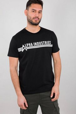 alpha industries shirt met ronde hals »alpha industries t«