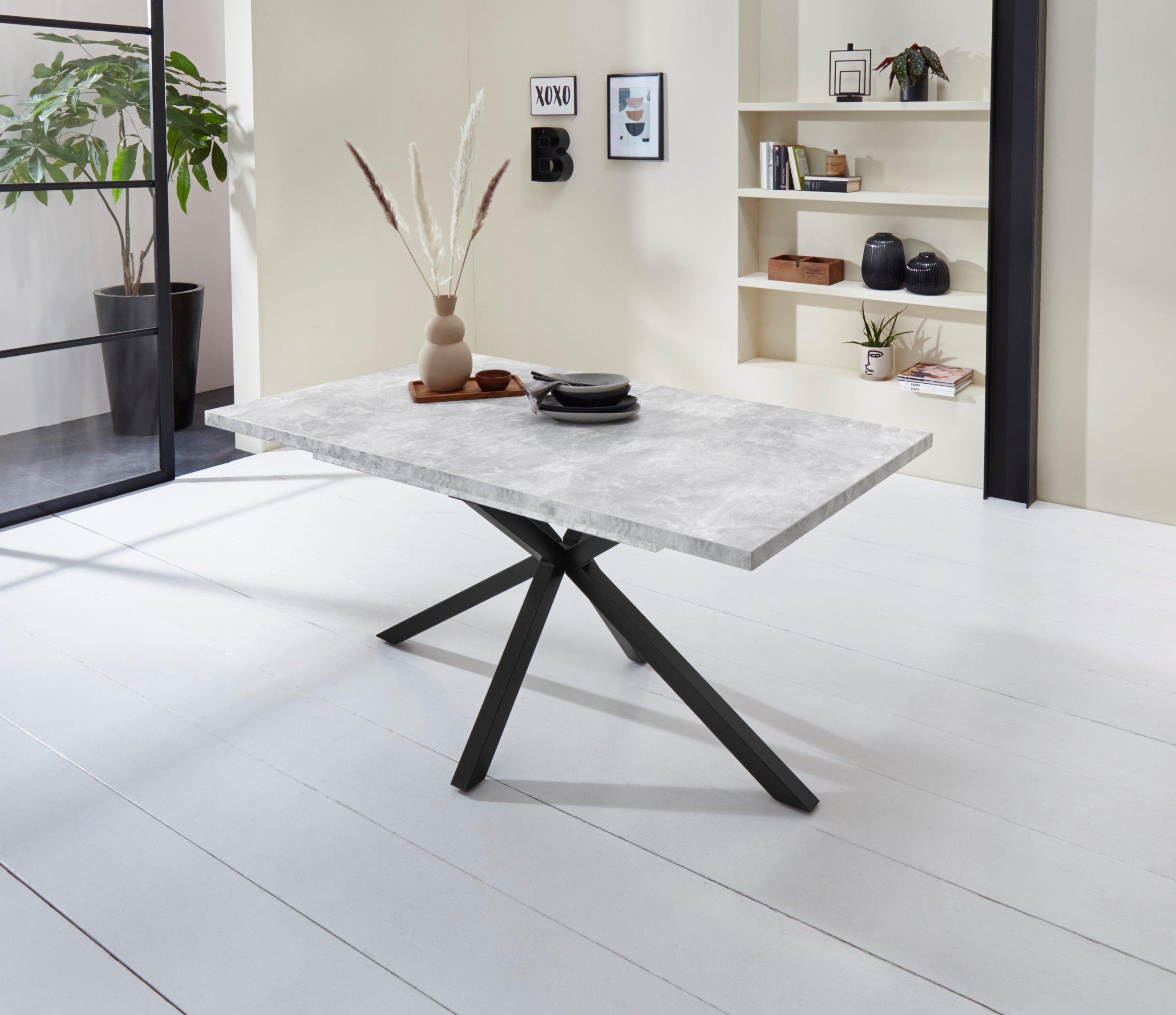 HELA Eettafel MALOU Breedte 160-200 cm bestellen: 30 dagen bedenktijd