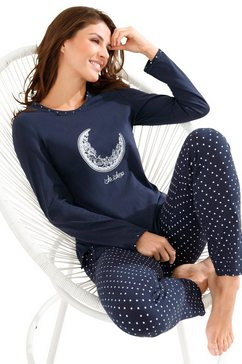ringella pyjama blauw