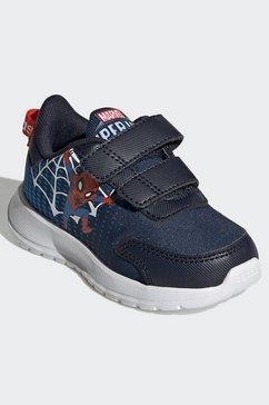adidas runningschoenen marvel tensaur run blauw