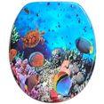 sanilo toiletzitting ocean met soft-closemechanisme blauw