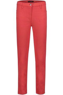 betty barclay skinnybroek in five-pocketsstijl rood