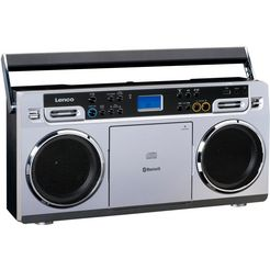 lenco soundmachine scd-580 zilver