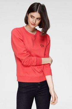 otto sweatshirt duurzaam van gecertificeerde bio-katoenmix rood