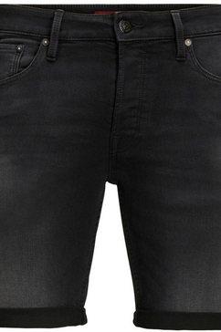 jack  jones junior jeansshort jjirick jjicon sho zwart