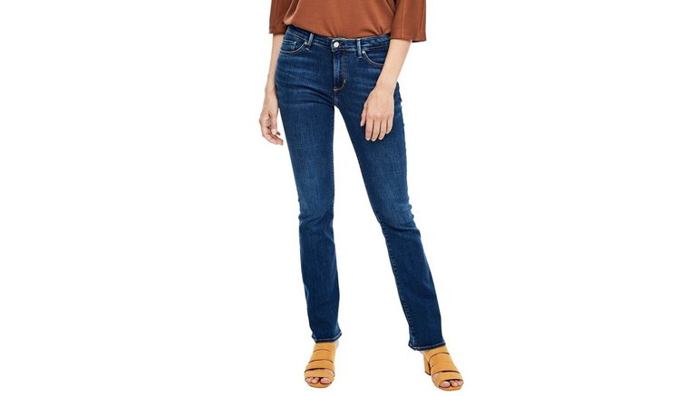 s.Oliver bootcut jeans BETSY in coole, authentieke wassing