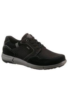 josef seibel sneakers enrico 51 met contrasterende stiksels zwart