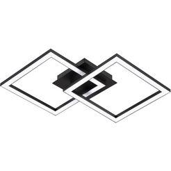 eglo led-plafondlamp minimalistisch, tijdloos model (1 stuk) zwart