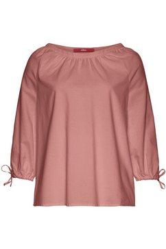 s.oliver blouse zonder sluiting roze