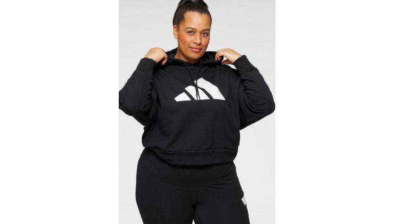 adidas Performance sweatshirt 3B PRIMEGREEN RELAXED WOMENS