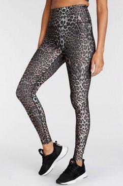endurance athlecia functionele tights windia w printed tights bruin