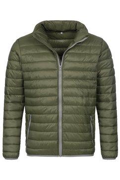 stedman gewatteerde jas outdoor padded met een capuchon (1 stuk) groen