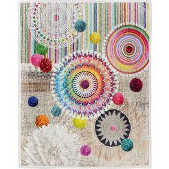 hip plaid inessa met mandala's multicolor