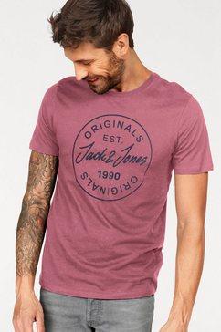 jack  jones t-shirt »more big tee« paars