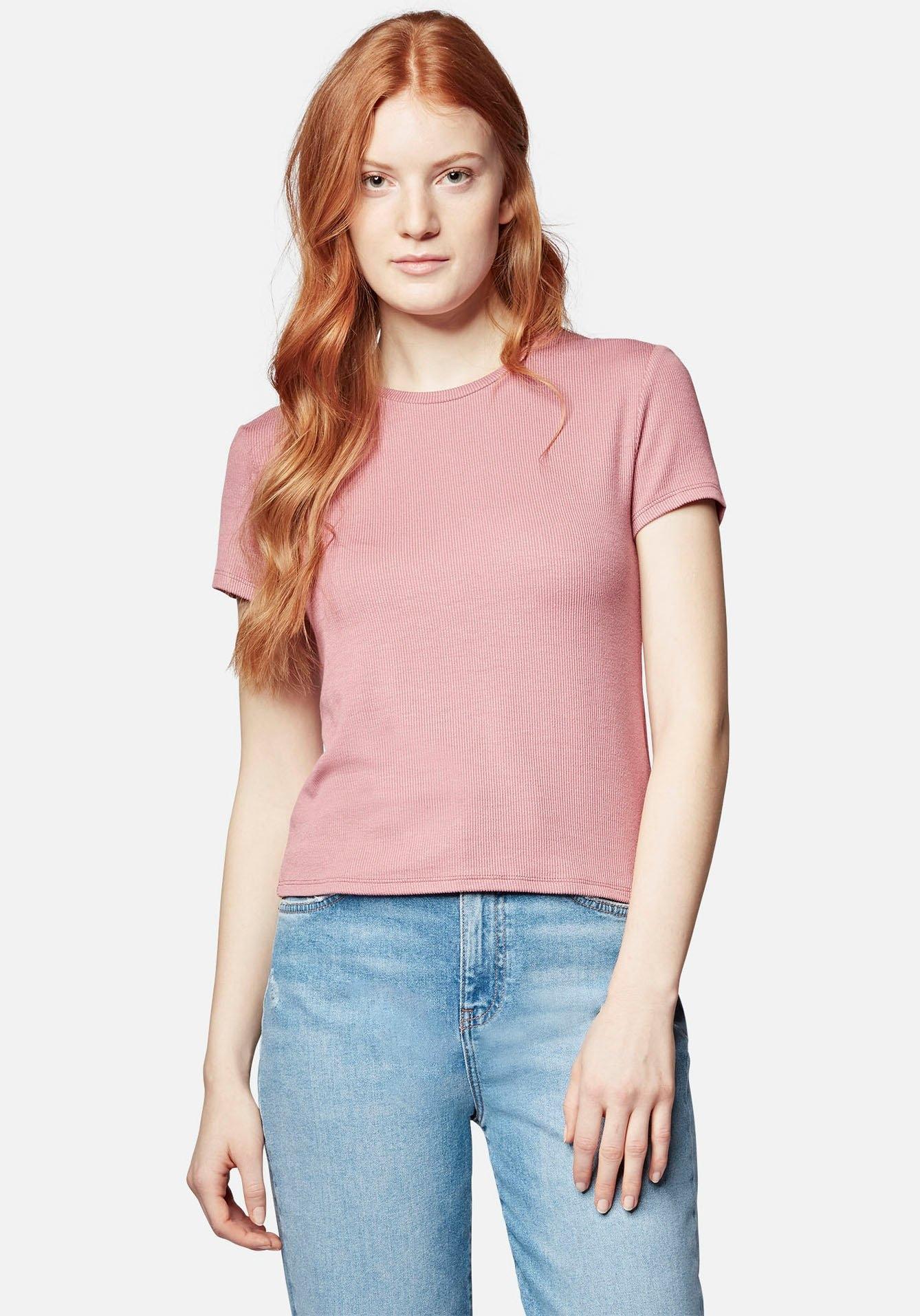 Mavi Jeans T-shirt SHORT SLEEVE TOP in zachte viscosemix bij OTTO online kopen
