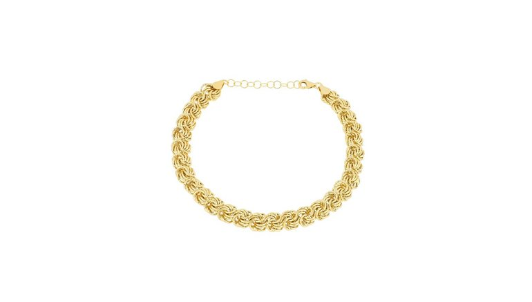 Firetti goudkleurige armband