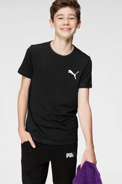 puma functioneel shirt active small logo tee b zwart