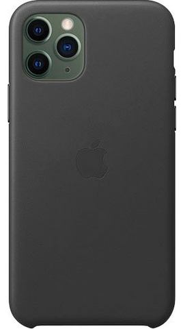 Apple iPhone 11 Pro Leder Case smartphone hoes